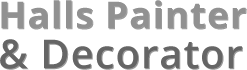 Halls Painters and Decorators logo